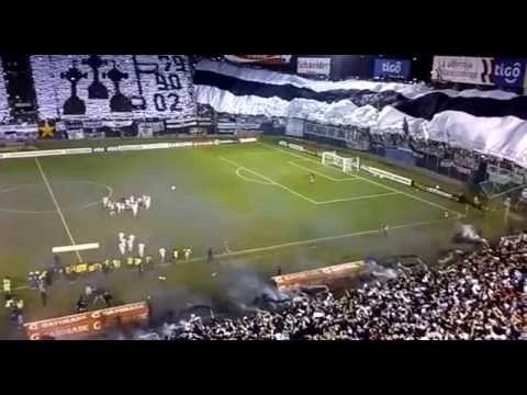 [HD] Recibimiento con mosaico: Olimpia 2 vs. Fluminense 1 - Copa Libertadores 2013