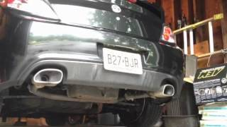 07 Hyundai Tiburon GT Muffler and Resonator Delete videos