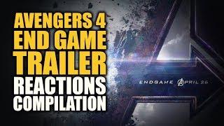 AVENGERS ENDGAME TRAILER Reactions Compilation
