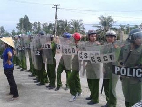 Giáo dân Mỹ Yên bị Đảng CSVN cho công an, côn đồ, CSCĐ đàn áp nổ súng trấn áp dân