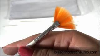 Kit De 15 Pinceis Para Decoração De Unhas