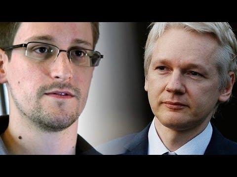 Edward Snowden e Julian Assange Vs John Kerry