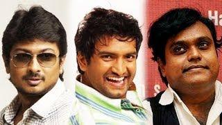 Udhay, Santhanam & Harris unite for 3rd time