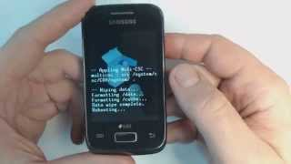 Samsung Galaxy Y Duos S6102 How To Remove Pattern Lock