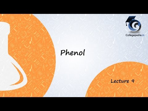 Phenol, Lecture  9, Organic Chemistry  Kolbe s Reaction
