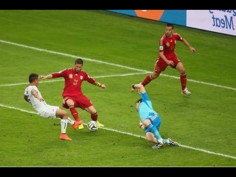 Chile vs Spain 2-0 World Cup 2014 Highlights and Recap (Goals:Vargas, Aranguiz)