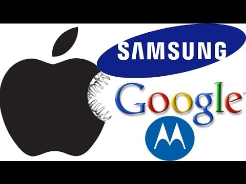 Apple, Google, and Samsung Patent War Throwdown