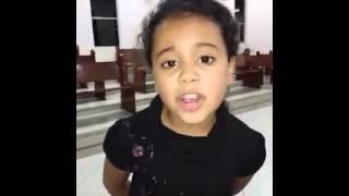 Vídeo Mandado Pelo WhatsAppGospel (Menina TREMENDAMENTE