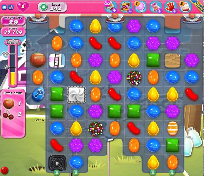 What Is The Candy With The Check Mark For In Candy Crush Saga Apps