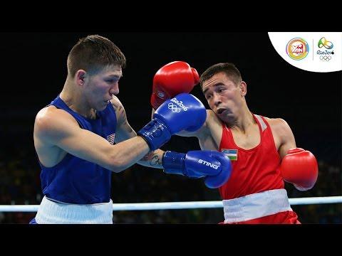 Quyền anh nam hạng cân 46-49kg bán kết: Cuba - Colombia, Mỹ - Uzbekistan