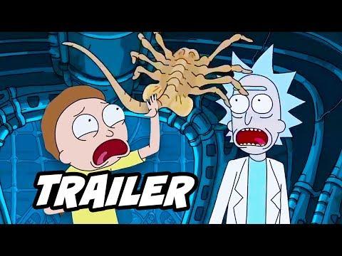 Rick and Morty Season 3 Alien Trailer and Season 3 Episode 2 Update