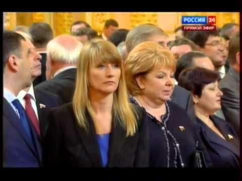 Clip - ông Putin nhậm chức tổng thống Nga