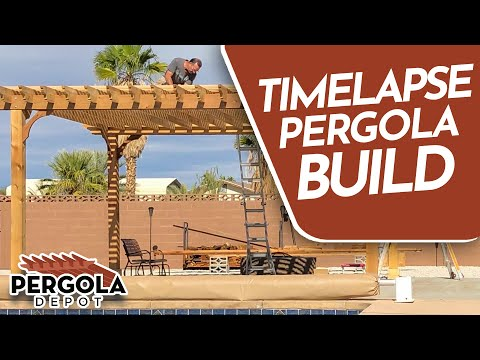 How to build a pergola youtube