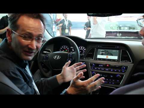 Android Auto: First Look (Hyundai, Honda, Chevy, Audi)