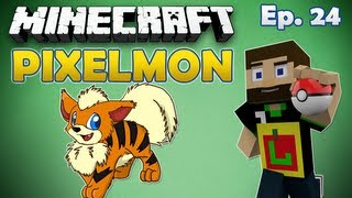 Pixelmon Noob {#24} WooflessJr for MrWoofless! (Minecraft Pokemon Mod)