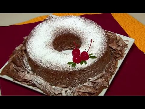 RECEITA: BOLO DE CHOCOLATE SEM GLÚTEN