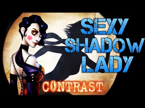 Contrast | SEXY SHADOW LADY | Clever Indie Game