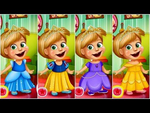 Masha nhóc siêu quậy biến thành Công chúa Disney (Masha Playing Dressup)