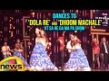 Aishwarya Rai dances to Dola Re and Dhoom Machale..