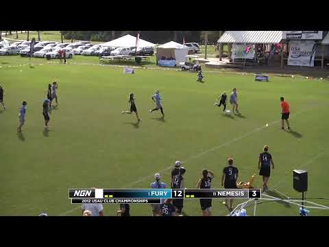 2012 Club Championships: Fury vs Nemesis (Women's) - 2nd half, ~10:30a ET Oct 26