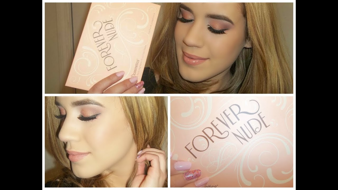 BH Cosmetics Nude Lip 28 Color Lipstick Palette Swatches