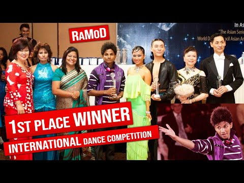 Sri Lankan Boy Winning an International Dance Comp