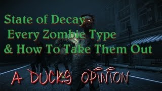 State Of Decay: Every Zombie Type And How To Take Them Out