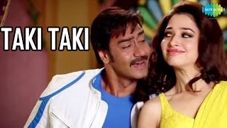 Taki Taki Official Song Video HIMMATWALA Ajay Devgn
