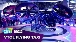 Uber's air taxi revealed at CES 2019 | What The Future