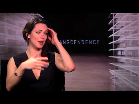 Transcendence: Rebecca Hall Official Interview