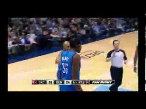 NBA CIRCLE - Oklahoma City Thunder Vs Denver Nuggets Highlights 17 Dec. 2013 www.nbacircle.com