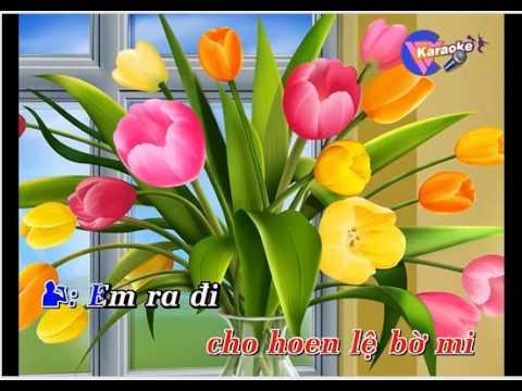 Bông ô môi  karaoke Lê Nguyễn / mời bạn nữ