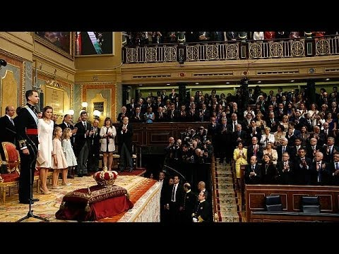 Official ceremony: Felipe VI sworn in as king of Spain