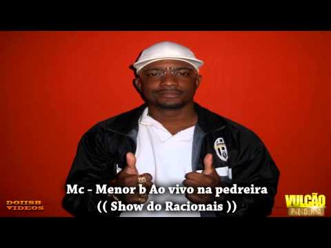Mc Menor b ao Vivo na pedreira (( Show do Racionais ))