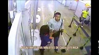 Homem armado leva malote de dinheiro de casa lot�rica no Centro de BH