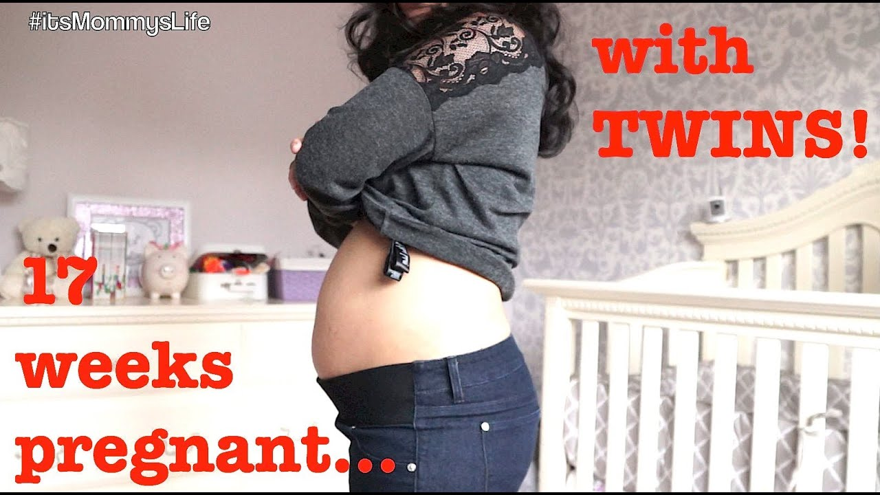 17 Week Pregnancy Update With Twins  - Itsmommyslife