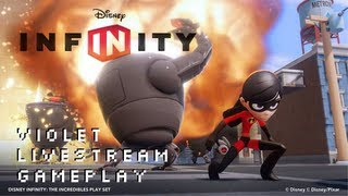Disney Infinity Violet Incredibles Play Set Pack