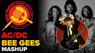 Stayin' in Black: The Bee Gees + AC/DC Mashup