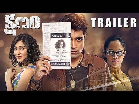 Kshanam Movie Theatrical Trailer