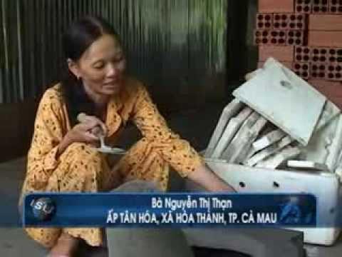 Nữ kỹ sư với bếp lò không khói CTV