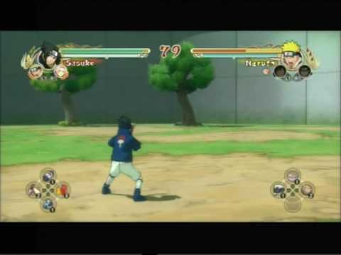 Naruto Ultimate Ninja Storm - Sasuke vs Naruto - PS3 HQ