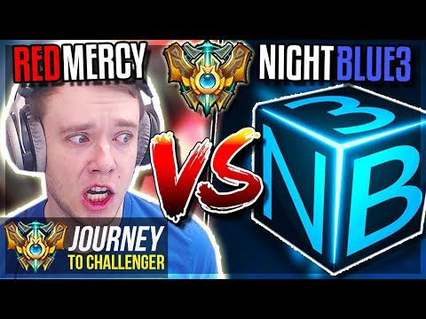 REDMERCY vs NIGHTBLUE3!!! FINAL SHOWDOWN!! - Journey To Challenger | League of Legends