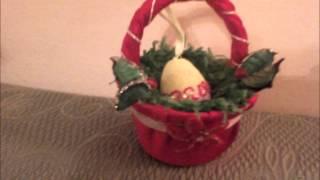 Uskrsne Košarice ( Cestini Di Pasqua Easter Baskets