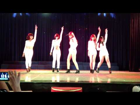 [Cut] 130825 4Minutes Volume Up + Mirror mirror Dance Cover by The Shadow
