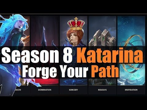 ►Katarina Season 8 Detailed Guide: NEW Runes Reforged Build & Items EXPLAINED | League Of Legends