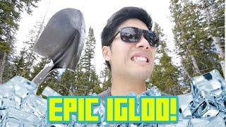 Building an Epic Igloo!