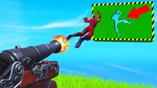 *NEW* CANNON DON'T MOVE Obstacle Course! (Fortnite)