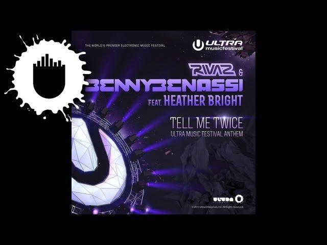 Rivaz & Benny Benassi ft. Heather Bright - Tell Me Twice (UMF Anthem) (Adrian Lux Remix) (Cover Art)