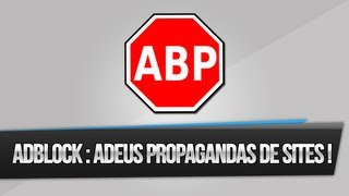 Adblock Plus: Eliminando Propaganda De Paginas Da Internet