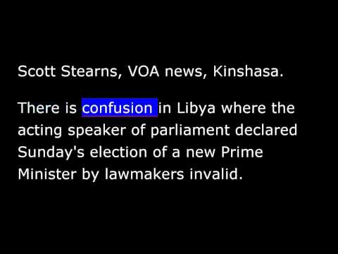 VOA news for Monday, May 5th, 2014
